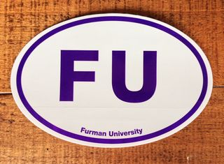 Furman Sticker